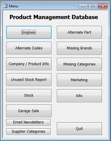 Product Management Menu Small